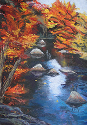Autumn Reflections II Painting