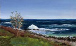 Kittery Point Surf painting