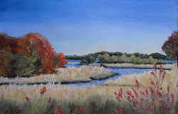 Tidal Inlet  painting